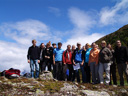 interdisciplinary excursion, patscherkofel. group photo