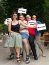 official group photo ;). 2008-07-01, Sony F828. keywords: renate, armin, markus, sebastian