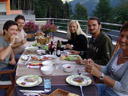 bad photo of good times: family barbeque with andrea/s. 2008-07-18, Sony F828.