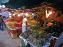 exotic fruit stand