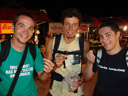 markus, rene & mathias taste fried grasshoppers