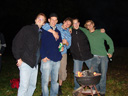 welcome home party - jan, simon, gabriel, mathias & max. 2008-08-09, Sony F828.