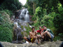 rene, markus & matt at namuang waterfall