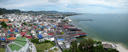 panorama: hua hin from above