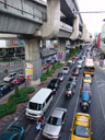 bangkok traffic - including tuk-tuks