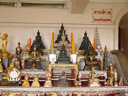 buddha statues, wat saket