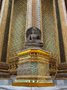 a corner of phra mondop