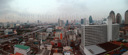 panorama: bangkok from almost-above
