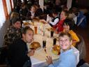 lunchtime. everybody loves wiener schnitzel ;-). 2008-09-20, Pentax W60.