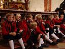 wilten choir boys have a break. 2008-09-20, Sony F828.