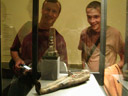 larry and i, with impressive osiris mummy ;). 2008-09-21, C700UZ. keywords: kunsthistorisches museum wien, vienna