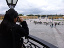 cindy fotografiert beim schloss sch&ouml;nbrunn
