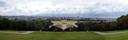 panorama: schönbrunn palace and vienna, view from gloriette