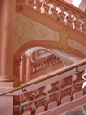 pink staircase, melk abbey