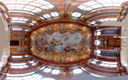 extreme panorama: the marble hall, melk abbey
