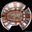 extreme panorama: marble hall, melk abbey