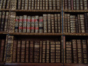 old books in the library