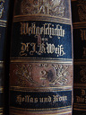 """""""world history, by dr. j. b. weiß; hellas & rome"""" - library"""