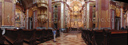 panorama: central nave, st. peter and paul collegiate church