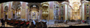 panorama: the central vane, st. peter and paul collegiate church