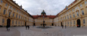 panorama: prelate's courtyard, melk abbey