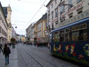 landstrasse and grottenbahn (tramway), linz. 2008-09-23, Sony F828.
