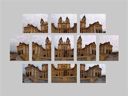 a set of 11 photos was taken to cover the entire the collegiate church at melk abbey.. 2008-09-23, . keywords: hugin panorama