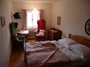 a double room in bräu-gasthof lobisser, hallstatt. 2008-09-25, Sony F828. keywords: gasthof bräuhaus
