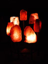 7 enormous salt crystal lamps