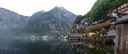 panorama: hallstatt and hallstätter lake. 2008-09-25, Sony F828.