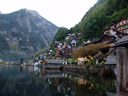 hallstatt and hallstätter lake. 2008-09-25, Sony F828.