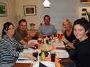 spare ribs at tom's - barbara, martin, tom, sandra & anton