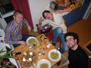 andi, resi, lorenz, pesto and advent wreath