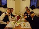 dinner in münster - bene, simon, herbert, alex & david