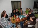 first bbq of the year - stefan, fritz, lisi, tobias, betül, lisa, walli, herbert & philipp