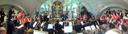 panorama: dress rehearsal with the choir and orchestra