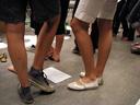 singing girls. 2007-06-19, Pentax W20. keywords: legs