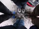 mountaineers. 2008-06-16, Sony F828. keywords: legs