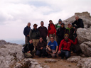 botanical excursion to mallorca - group photo on the puig de massanella (massonella)