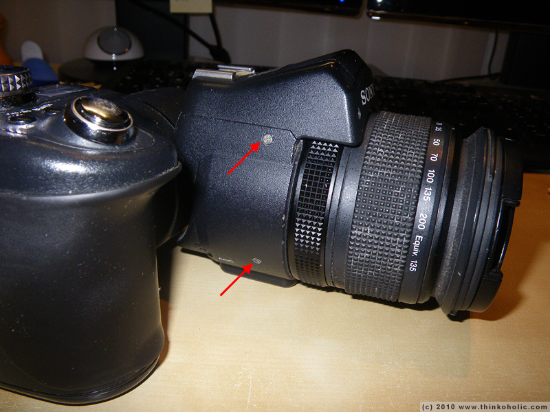 How to remove lens sony cybershot