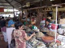 tomohon market: dried fish