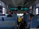 we departed from manado at 06:50 a.m. busses just leave when they're full.