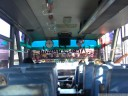 on the bus to gorontalo, just before arrival, 17:00. we did roughly 400 km in 10+ hours.