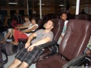 business class on the night ferry