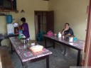 "lunchtime at a typical local ""rumah makan"" in buntao"