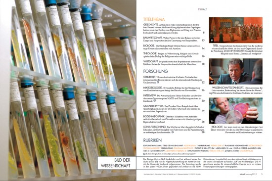 """my photo of the insitute of botany's algal collection made """"science image 2011/2"""""""