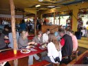 lunch at comidas tipicas dona mayela - a typical costa rican countryside restaurant