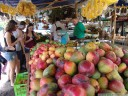 tropical fruit stand, somewhere in costa rica