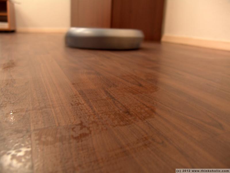 Irobot laminate floors floor matttroy for Intuitive laminate flooring