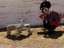 Asimov R3 rover, developed by PartTimeScientists. 2012-04-28 03:42:25, DSC-F828.